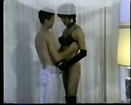 Lisa Lawrence black shemale retroshort 3 - scene 1