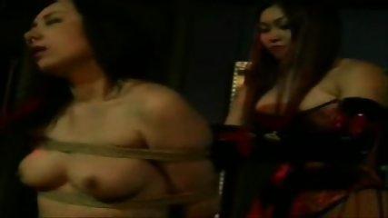 Asian Lesbian Rope Bondage - scene 2
