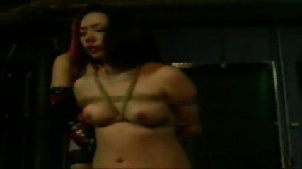 Asian Lesbian Rope Bondage - scene 3