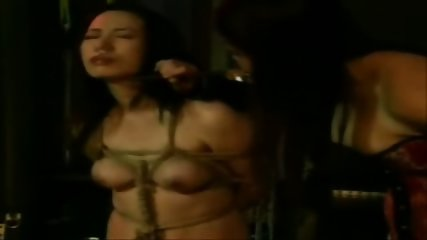 Asian Lesbian Rope Bondage - scene 5