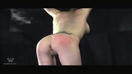 Bound Lesbian Spank - scene 5