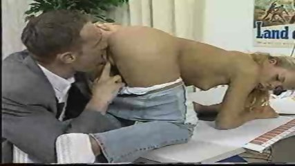 Hot blond likes to be licked - scene 12