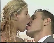 Hot blond likes to be licked - scene 3
