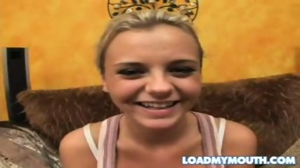 Bree Olson swallow - scene 2