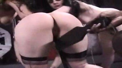 Interracial Lesbian Spanking - scene 6