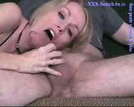 Blonde mature sucks cock - scene 8