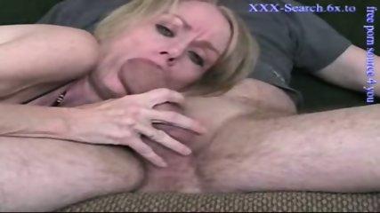 Blonde mature sucks cock - scene 10
