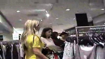 Hot German Blonde in Public Changing Room - scene 2