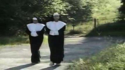 Nuns lesbians asslicking - scene 1