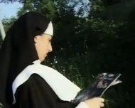 Nuns lesbians asslicking - scene 2