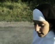 Nuns lesbians asslicking - scene 3