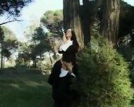 Nuns lesbians asslicking - scene 4