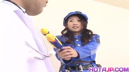 Koyuki Matsumoto Police Woman Is Frigged - scene 2