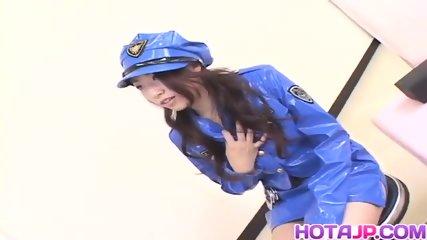 Koyuki Matsumoto Police Woman Is Frigged - scene 3