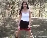 Josie masturbating - scene 3