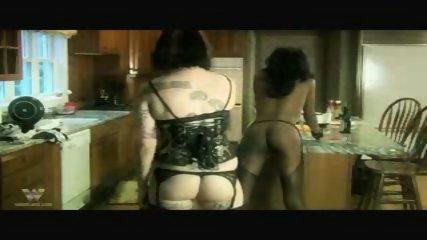 Interracial Lesbian Bondage Two - scene 8