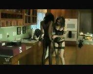 Interracial Lesbian Bondage Two - scene 7
