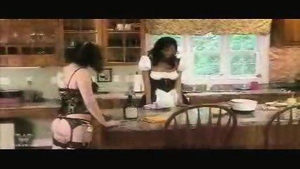 Interracial Lesbian Bondage One - scene 1
