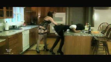 Interracial Lesbian Bondage One - scene 2