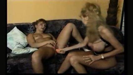 Lesbians have dildo fun - scene 6