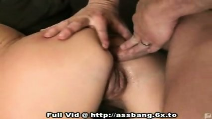 Blonde Anal Fuck Threesome - scene 11