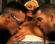 MILF Seeker Threesome - scene 1