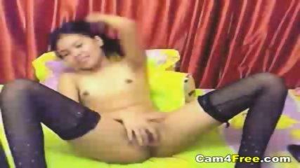 Hot Asian Teen Fingers Herself On Webcam - scene 8