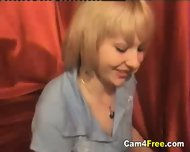 Hot Blonde Naked and Horny On Webcam - scene 1