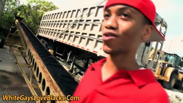 Teen black thug sucking