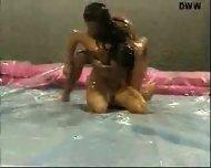 Naked Oil Wrestling - scene 2
