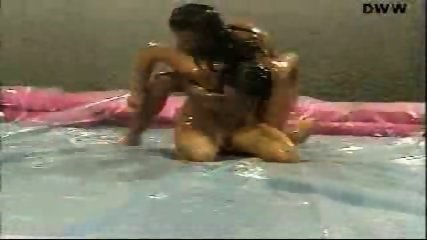 Naked Oil Wrestling - scene 2