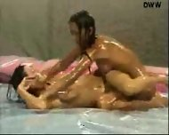 Naked Oil Wrestling - scene 7
