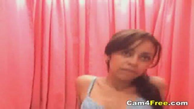 Petite Hottie On Her Webcam
