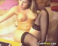 Cute Teen Stripping On Her Webcam - scene 12
