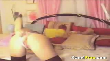Cute Teen Stripping On Her Webcam - scene 3