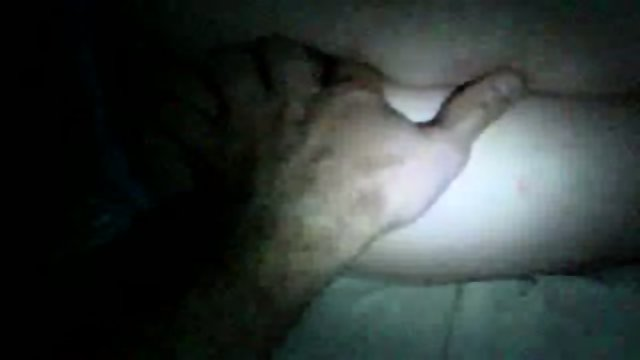 Sleeping mom ass fingering