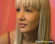 Hot Blonde Teen Naked On Webcam - scene 1