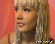 Hot Blonde Teen Naked On Webcam - scene 2
