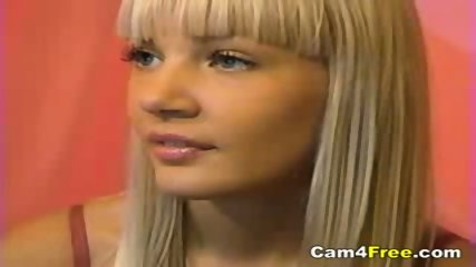 Hot Blonde Teen Naked On Webcam - scene 2