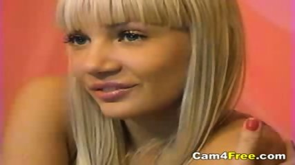 Hot Blonde Teen Naked On Webcam - scene 3
