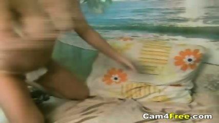 Really Hot Teen Fingers Herself - scene 6