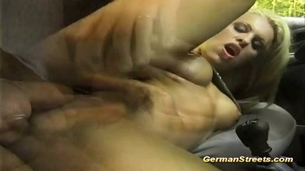 Picked Up Busty German For Backseat Anal - scene 10