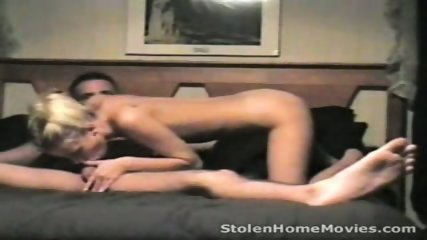 StolenHome Movies - Petite at home tries anal - scene 1
