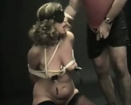 Bound Clamped and Spanked - scene 8