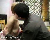 drunken russian slut fucked hard from young boy - scene 1