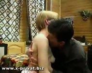 drunken russian slut fucked hard from young boy - scene 3