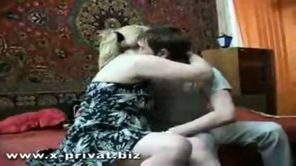 russian mature woman fucked hard from young boy - scene 1