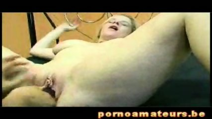 Two hot Lesbians with Double Dildo - scene 5