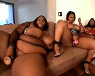 Big Ums Fat Black Freaks Orgy 3 Part 1 - scene 5