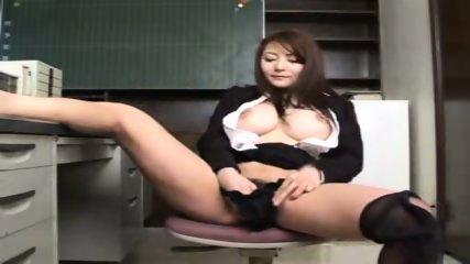 Busty Asian Secretary - scene 11